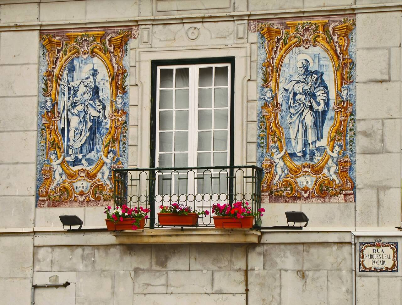 Balconi a Lisbona
