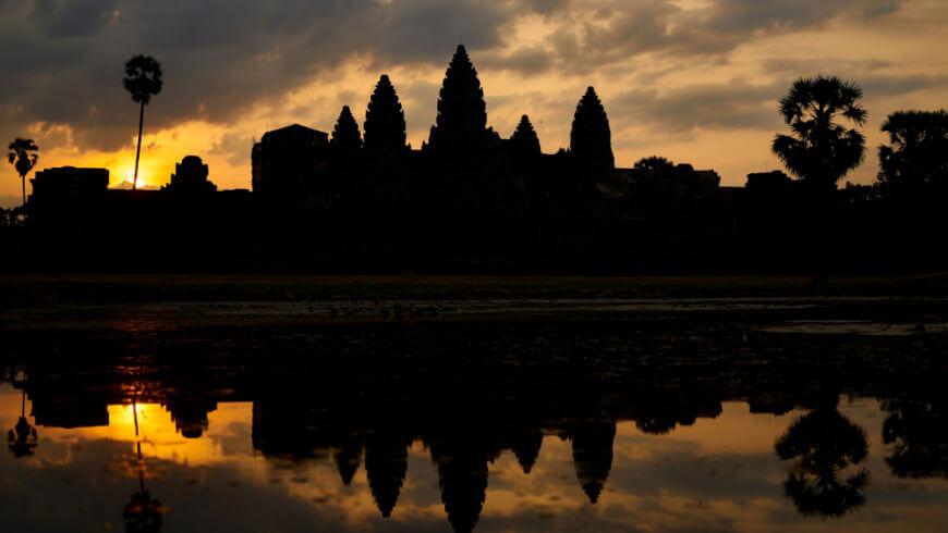 Angkor Wat al tramonto