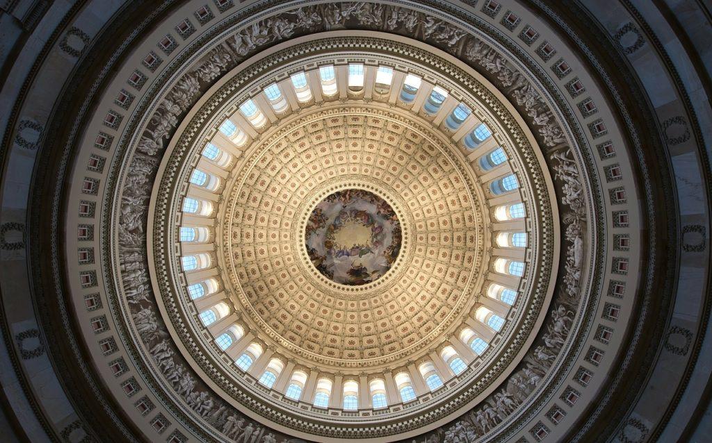 La rotonda del Campidoglio a Washington