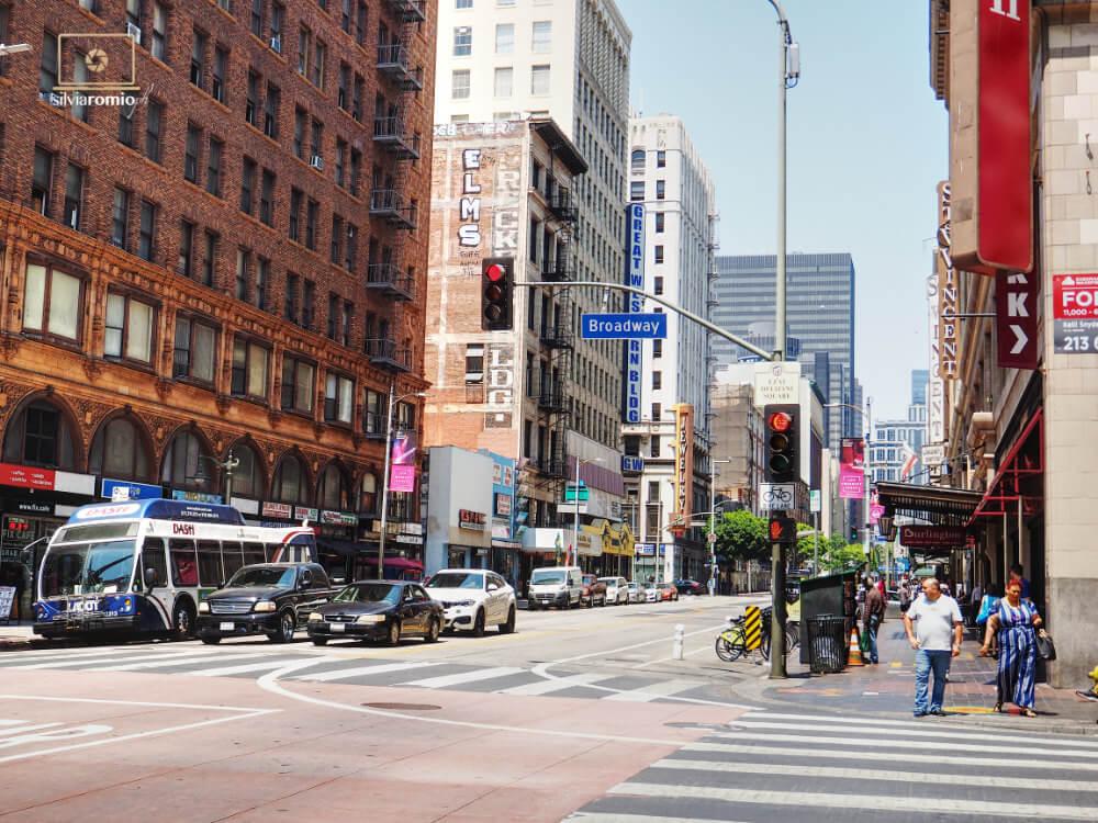 Broadway a Los Angeles