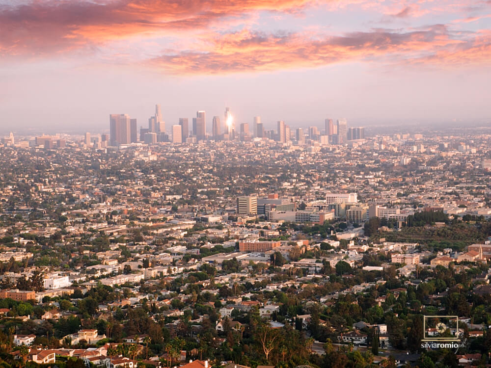 Los Angeles Panorama dal Griffith Observatory