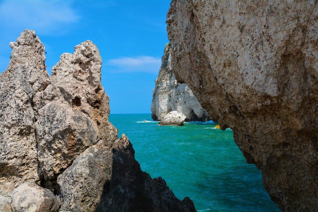 Il mare e le spiagge del Gargano