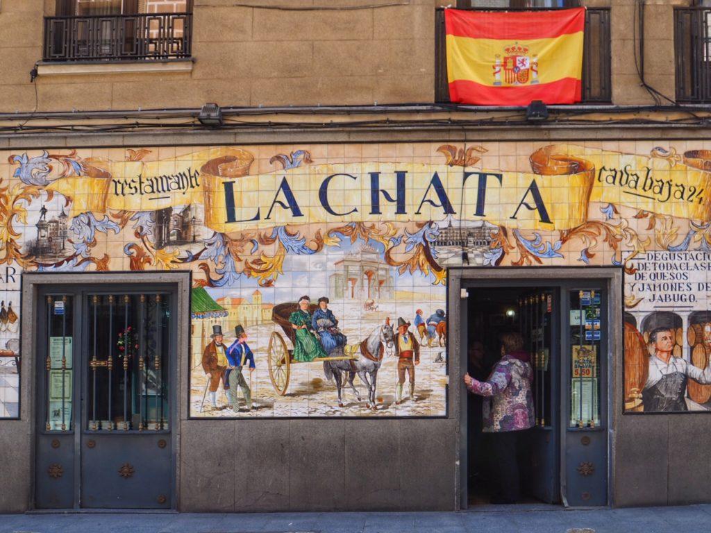 Un tapas bar a La Latina