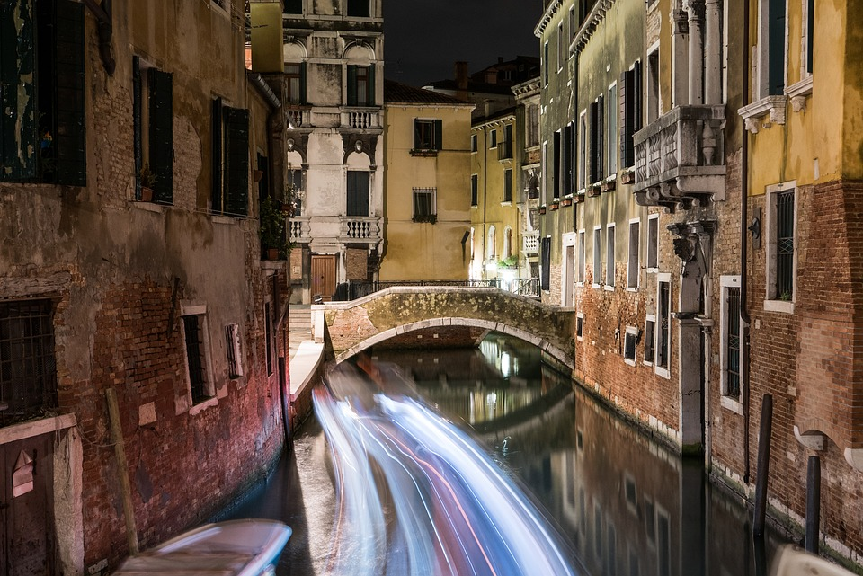 Torino Milano Venezia on the road