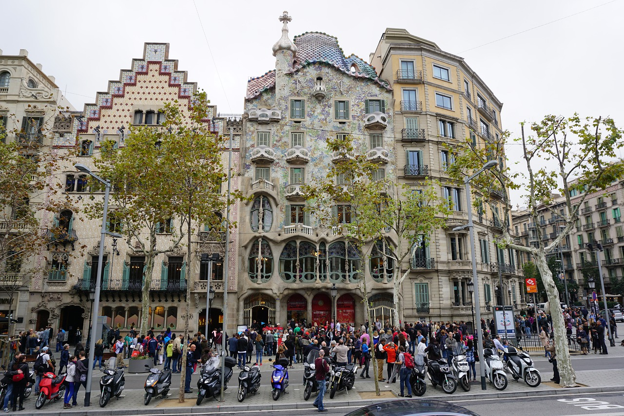 A Barcellona per visitare Casa Battlo