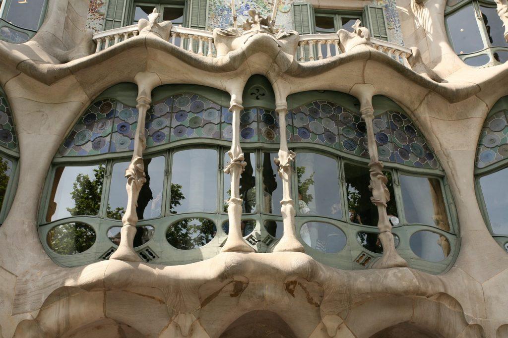 Casa Battlo vetrate